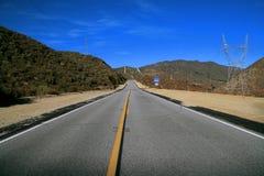 A estrada aberta Imagem de Stock Royalty Free