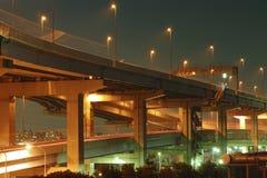Estrada acima pendurada Imagens de Stock