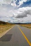 A estrada adiante Imagem de Stock