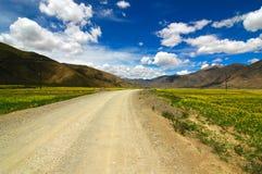 A estrada adiante Fotografia de Stock