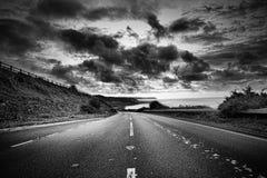 A estrada adiante Foto de Stock Royalty Free