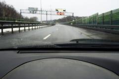 Estrada adiante Foto de Stock Royalty Free