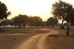 Estrada africana Imagem de Stock Royalty Free