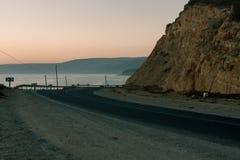 Estrada a Agadir Fotos de Stock