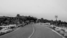 Estrada além do horizonte Imagem de Stock