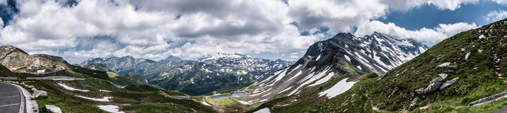 Estrada alpina Foto de Stock