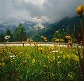 Estrada alpina Imagem de Stock Royalty Free