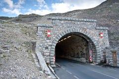 Estrada alpina elevada - Grossglocnkner Imagens de Stock Royalty Free