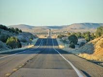 Estrada americana Foto de Stock Royalty Free