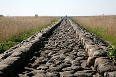 Estrada antiga Fotografia de Stock