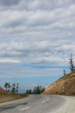 A estrada ao céu Foto de Stock Royalty Free