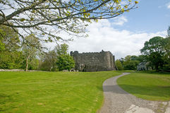 Estrada ao castelo Fotografia de Stock Royalty Free
