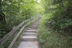 A estrada ao desfiladeiro de Aare Fotos de Stock