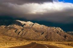 A estrada ao encantamento Fotografia de Stock