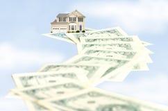 Estrada ao Homeownership imagens de stock royalty free