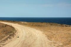 Estrada ao horizonte Fotos de Stock Royalty Free