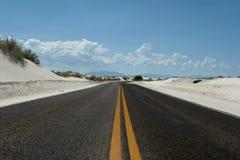 Estrada ao horizonte Imagem de Stock