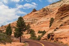 Estrada ao longo da montanha, Utá Imagem de Stock Royalty Free