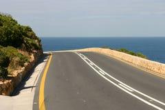 Estrada ao mar Fotografia de Stock