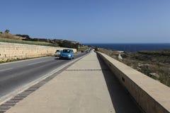 Estrada ao mar Foto de Stock Royalty Free
