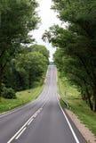 Estrada ao monte Fotos de Stock Royalty Free