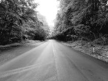 A estrada ao nenhum onde Imagens de Stock Royalty Free