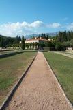 Estrada ao palácio Foto de Stock