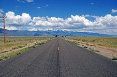 A estrada ao Sangre de Cristo Escala, Colorado, EUA Foto de Stock