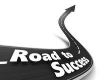 Estrada ao sucesso Foto de Stock