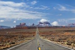 Estrada ao vale do monumento, Utá Imagens de Stock Royalty Free
