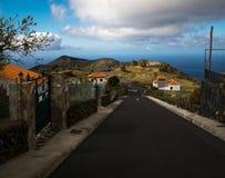 Estrada aos vulcões Ilhas Canárias imagens de stock royalty free