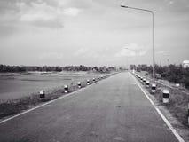 Estrada apenas Imagem de Stock