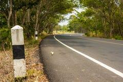 Estrada asfaltada. Fotografia de Stock Royalty Free