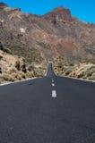 Estrada asfaltada Fotos de Stock