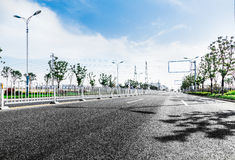 Estrada asfaltada Imagens de Stock Royalty Free