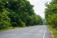 Estrada asfaltada Imagem de Stock Royalty Free