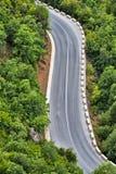 Estrada asfaltada da montanha Fotos de Stock
