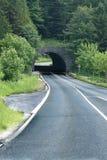 Estrada através do túnel Fotografia de Stock Royalty Free