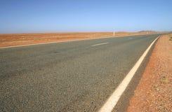 Estrada australiana Fotos de Stock