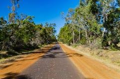 Estrada australiana II do interior Fotografia de Stock Royalty Free