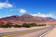 Estrada bonita Foto de Stock Royalty Free