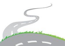 Estrada bonita Fotografia de Stock