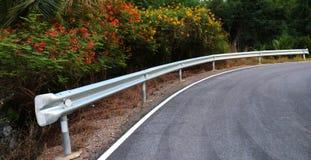Estrada bonita da curva Imagens de Stock Royalty Free