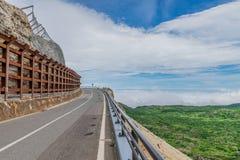 Estrada bonita da montanha Fotos de Stock Royalty Free