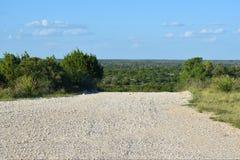 Estrada branca da rocha Fotos de Stock Royalty Free
