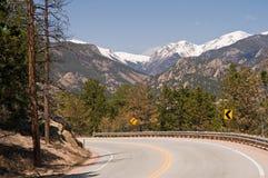 Estrada cénico de Colorado Imagens de Stock Royalty Free