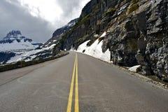 Estrada cênico da montanha Fotografia de Stock Royalty Free
