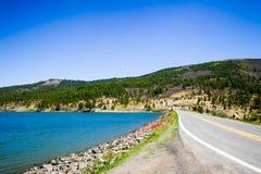 Estrada cênico das montanhas do Arizona Imagem de Stock Royalty Free