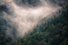 Estrada cênico nas montanhas Fotos de Stock