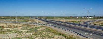 A estrada China Europa-ocidental ocidental Fotos de Stock Royalty Free
